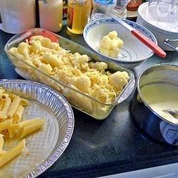 Pasta Cauliflower Cheese Casserole