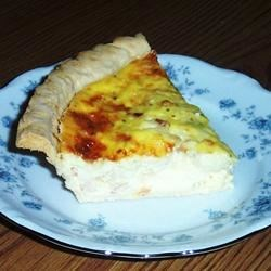 Spicy Edam Shrimp Quiche Recipe