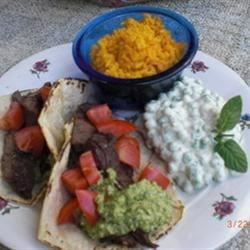 Carne Asada with Mexican Pesto