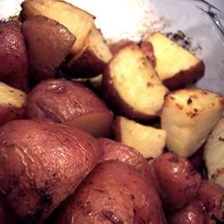 lemon horseradish new potatoes photos