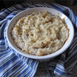 Fluffy Haddock and Potato Pie Recipe