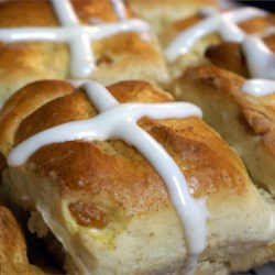 Pull-Apart Hot Cross Buns Recipe