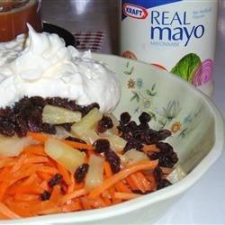 Pineapple Carrot Salad