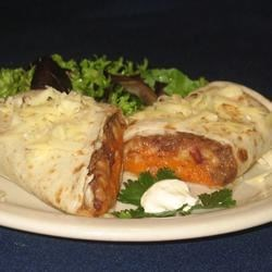 Addictive Sweet Potato Burritos Recipe