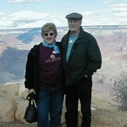 Ed & Lucia visit the Grand Canyon