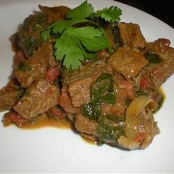 Photo of Beef and Spinach Curry by jane Gibraltar