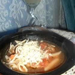 Meatball and Pasta Soup Recipe