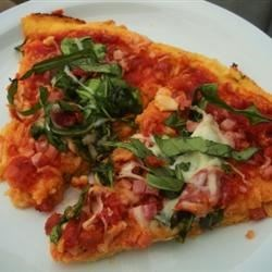 Sun-Dried Tomato and Arugula Pizza Recipe