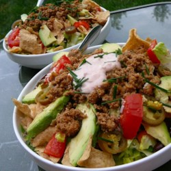 Quick Turkey Taco Salad
