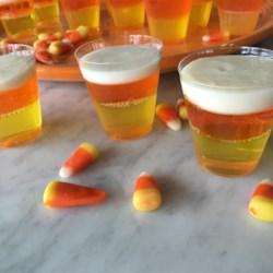 Halloween Candy Corn Jell-O(R) Shots