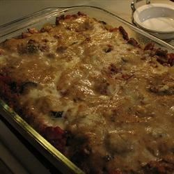 Photo of Big Spaghetti Pie with Beef by HollyWally