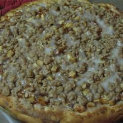 apple coffee cake pizza