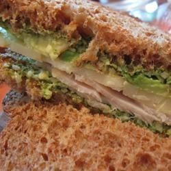 Basil Pesto Sunshine Sandwich Recipe