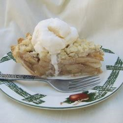 Image of Apple Crumble Pie, AllRecipes