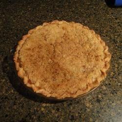 Photo of Crumb-Top Rhubarb Custard Pie by Karen