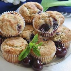 Fresh Cherry Muffins Recipe - Allrecipes com