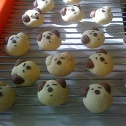 Malted Milk Doggie Cookies
