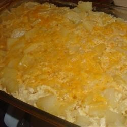 Steak House Au Gratin Potatoes Recipe