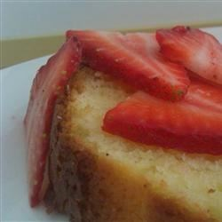 Lemon Pound Cake III Recipe