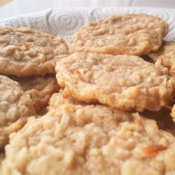 Chewy Coconut Cookies