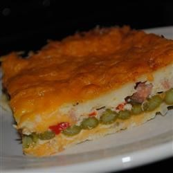 Photo of Cheddar-Bacon-Asparagus Strata by Maureen O'leary
