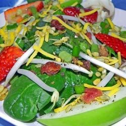 Image of Apple-Strawberry Spinach Salad, AllRecipes