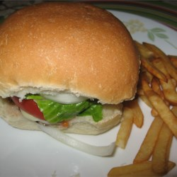 Actually Delicious Turkey Burgers