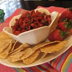 Betty Baker's Strawberry Salsa Recipe