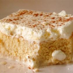 Tres Leches Milk Cake Recipe