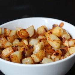 butter fried potatoes recipe photos