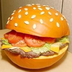 Hamburger Pumpkin