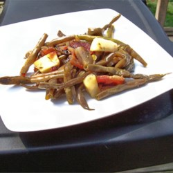 Image of Apple-Bacon Green Beans, AllRecipes