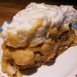 Banana Pudding with Meringue Recipe
