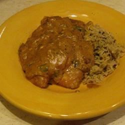 Paprika Chicken w/Sour Cream Gravy