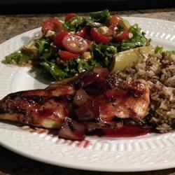 Photo of Blushing Pomegranate Chicken by hannahjo27