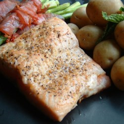 Lemon Garlic Salmon Recipe