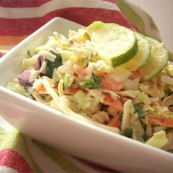 Smoked Chile Cole Slaw Recipe