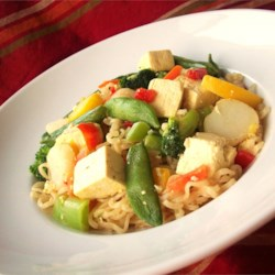 Fast and Easy Tofu Lo-Mein Recipe