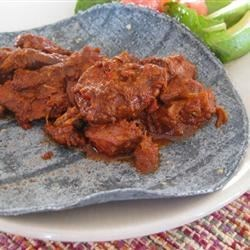 Photo of Carne Adovada by Delilah Lopez