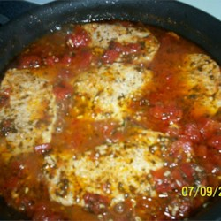 Spicy Italian Pork Cutlets