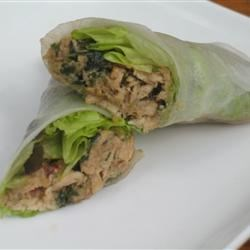 Lemon Grass and Chicken Summer Rolls Recipe