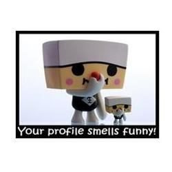Your Profile Smells Funny!