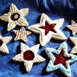 Raspberry Star Cookies Recipe