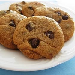 Photo of Peanut Butter Choco Chip Cookies by Colette