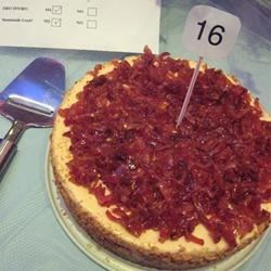 Maple Bacon Cheesecake photo by nicolekrystyn - Allrecipes.com ...