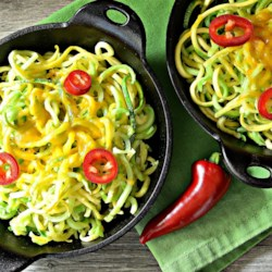 cheese and vegetable noodle medley printer friendly