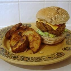 Carrot Rice Nut Burger Recipe