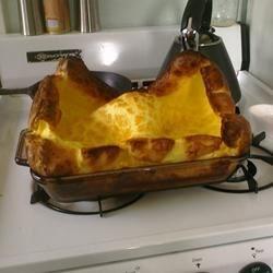 German Oven Pancake mid-puff