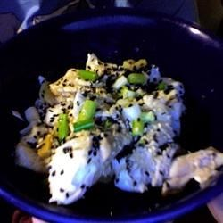 Steamed Fish with Ginger Recipe