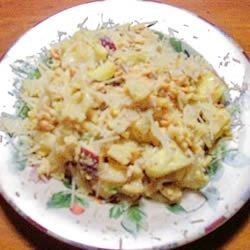 Photo of Curried Salmon Pasta Salad by USA WEEKEND columnist Jean Carper